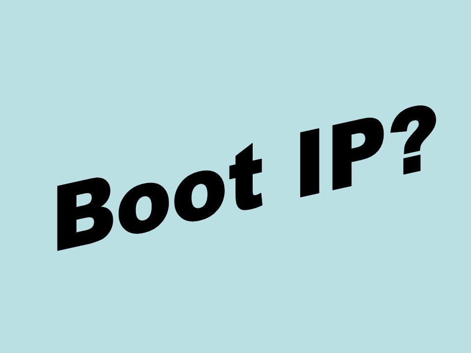 Boot IP