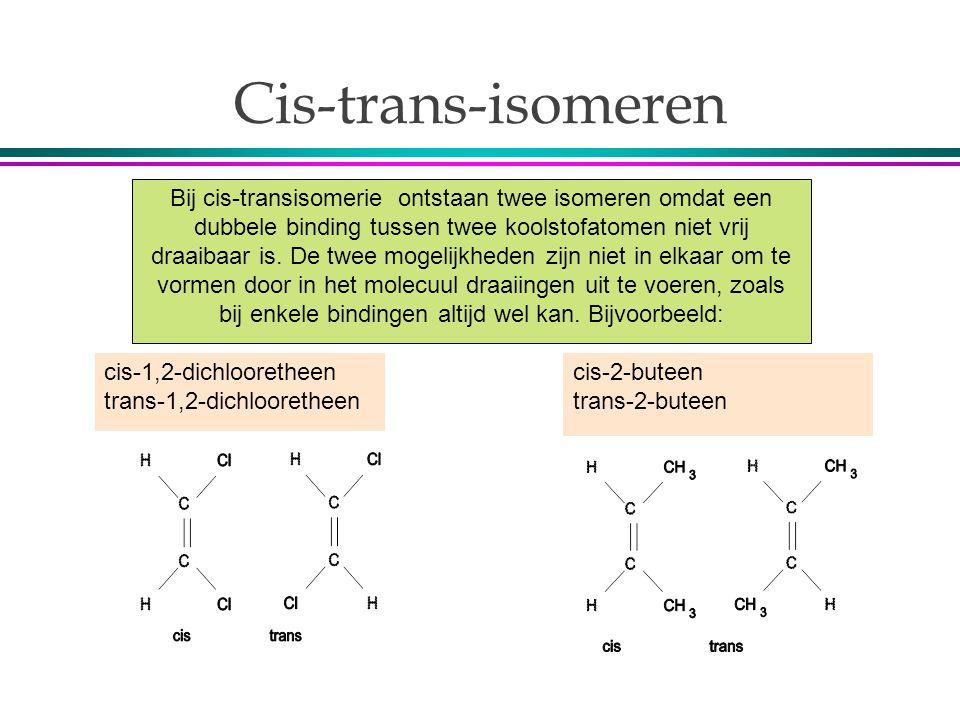 Cis-trans-isomeren