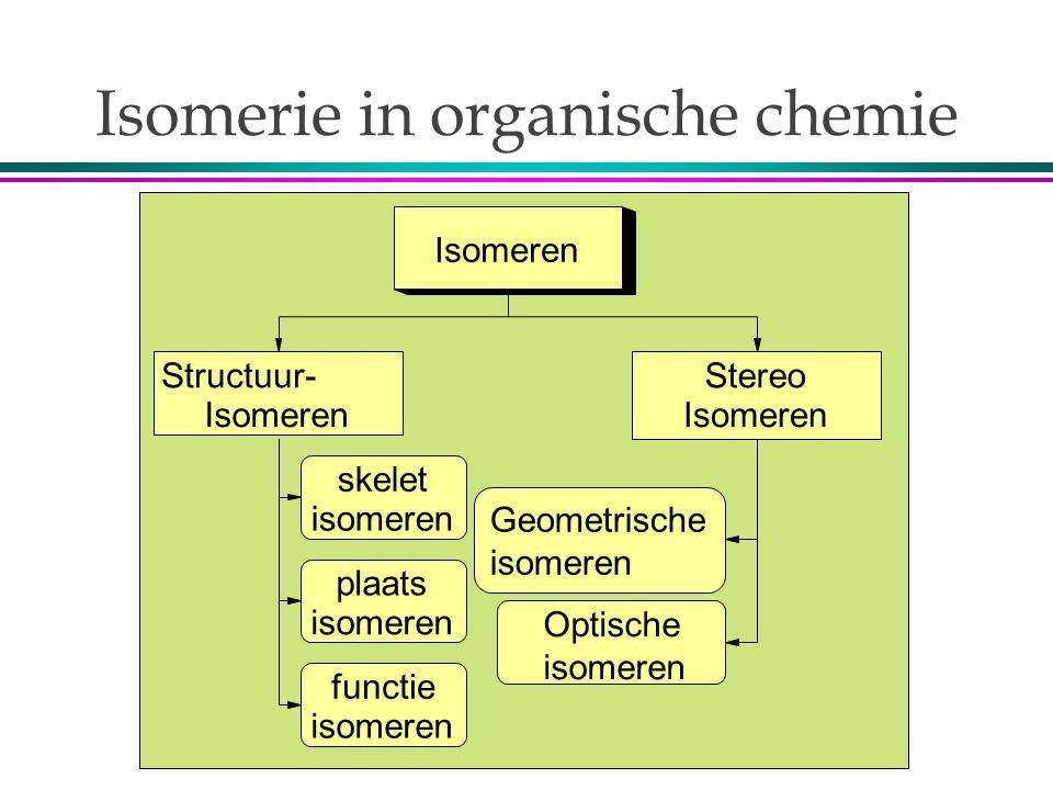 Isomerie in organische chemie