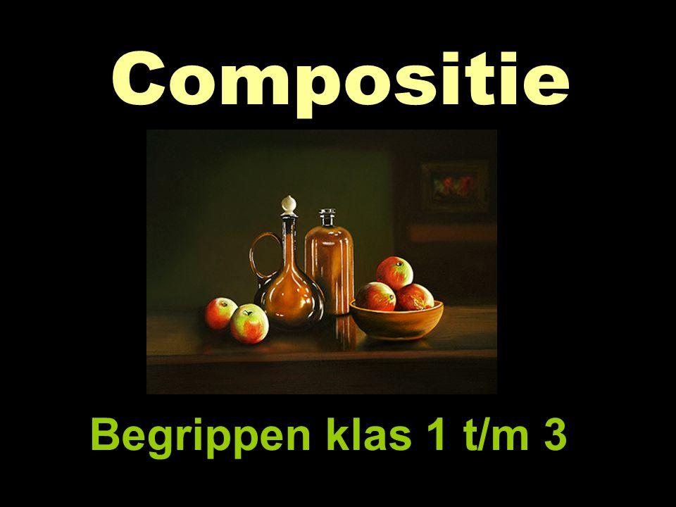 Compositie Begrippen klas 1 t/m 3