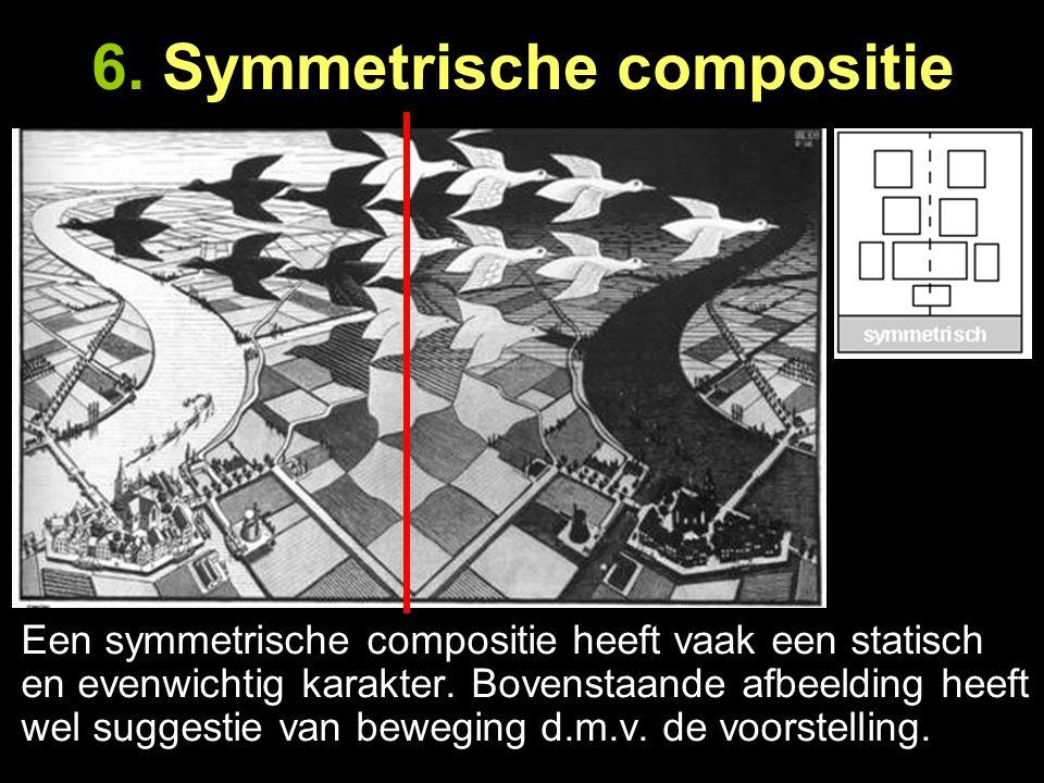6. Symmetrische compositie