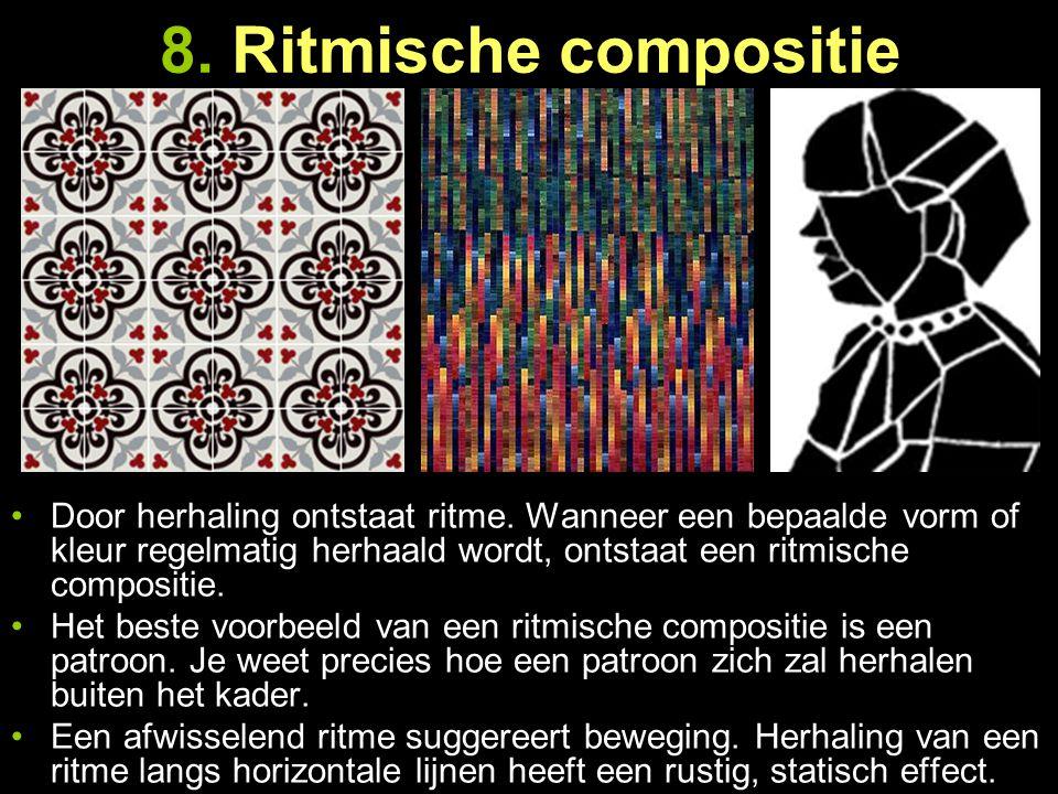 8. Ritmische compositie