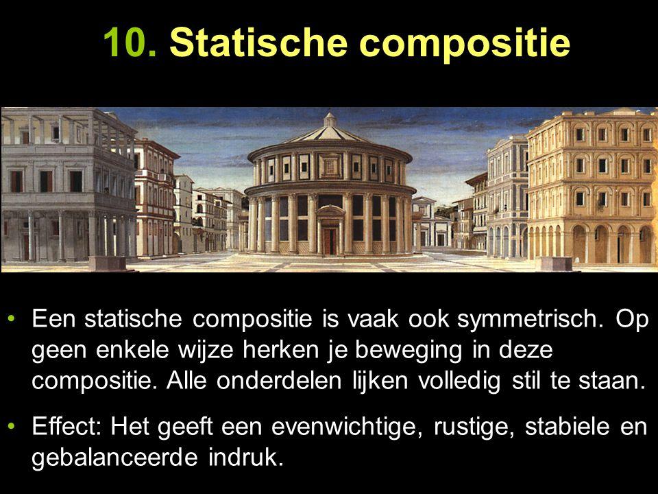 10. Statische compositie