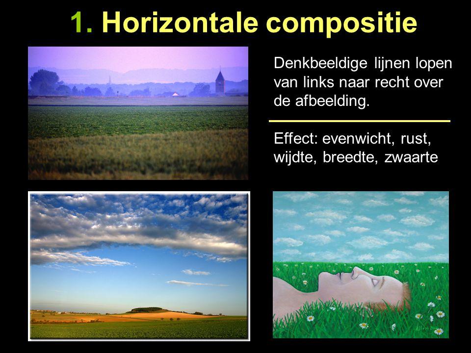 1. Horizontale compositie