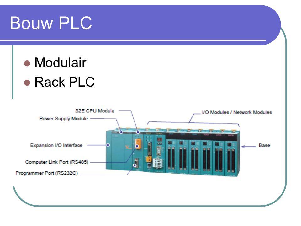 Bouw PLC Modulair Rack PLC