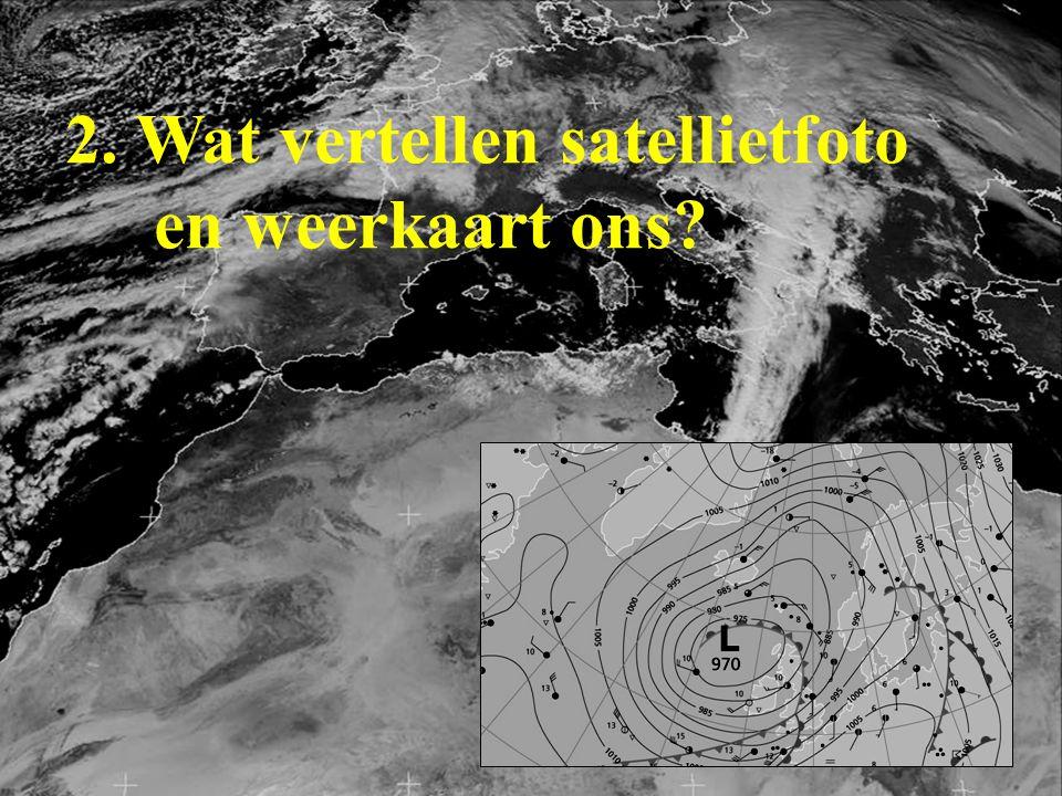 2. Wat vertellen satellietfoto