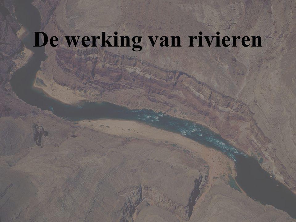 De werking van rivieren