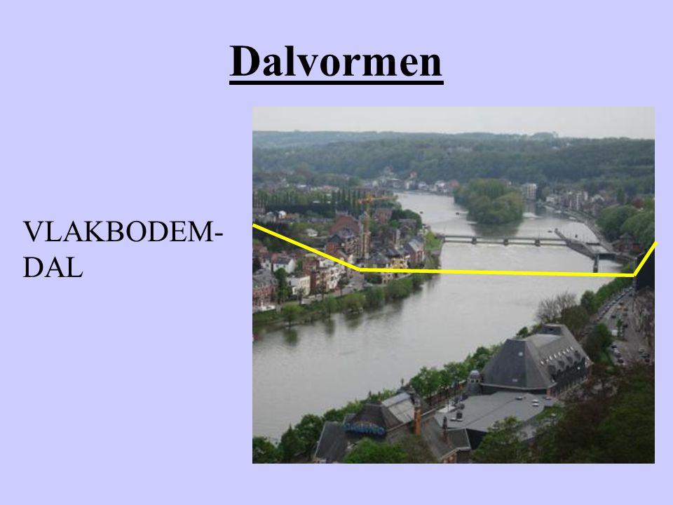 Dalvormen VLAKBODEM- DAL