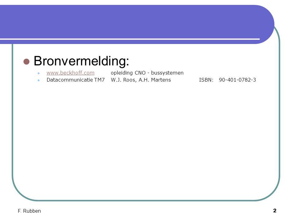 Bronvermelding: www.beckhoff.com opleiding CNO - bussystemen