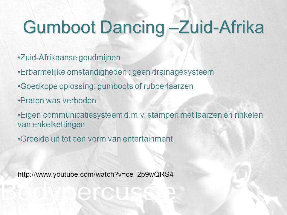 Gumboot Dancing –Zuid-Afrika