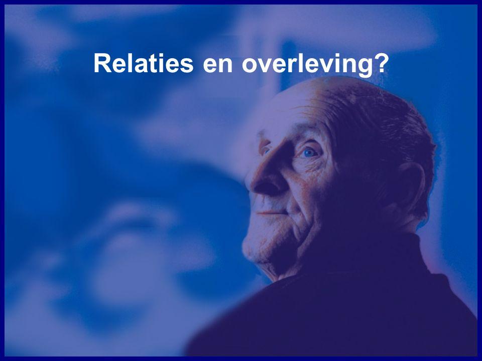 Relaties en overleving