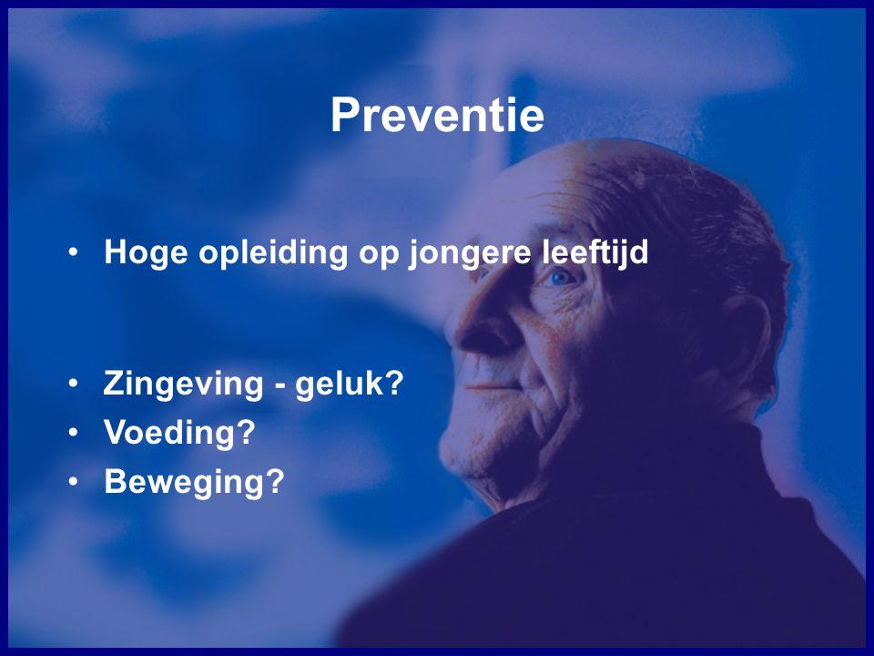 Preventie Hoge opleiding op jongere leeftijd Zingeving - geluk