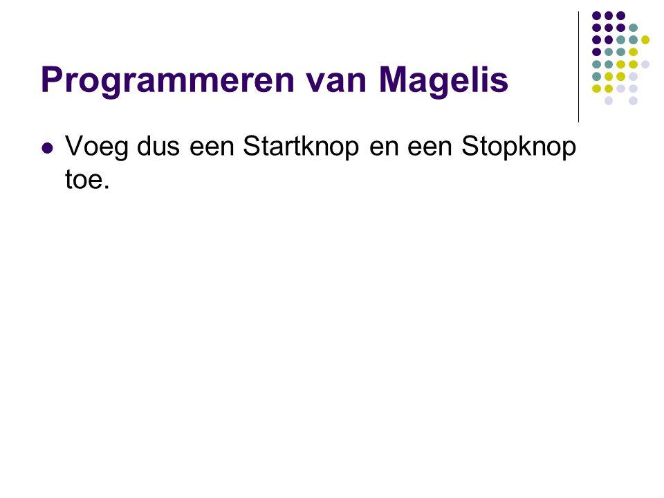 Programmeren van Magelis