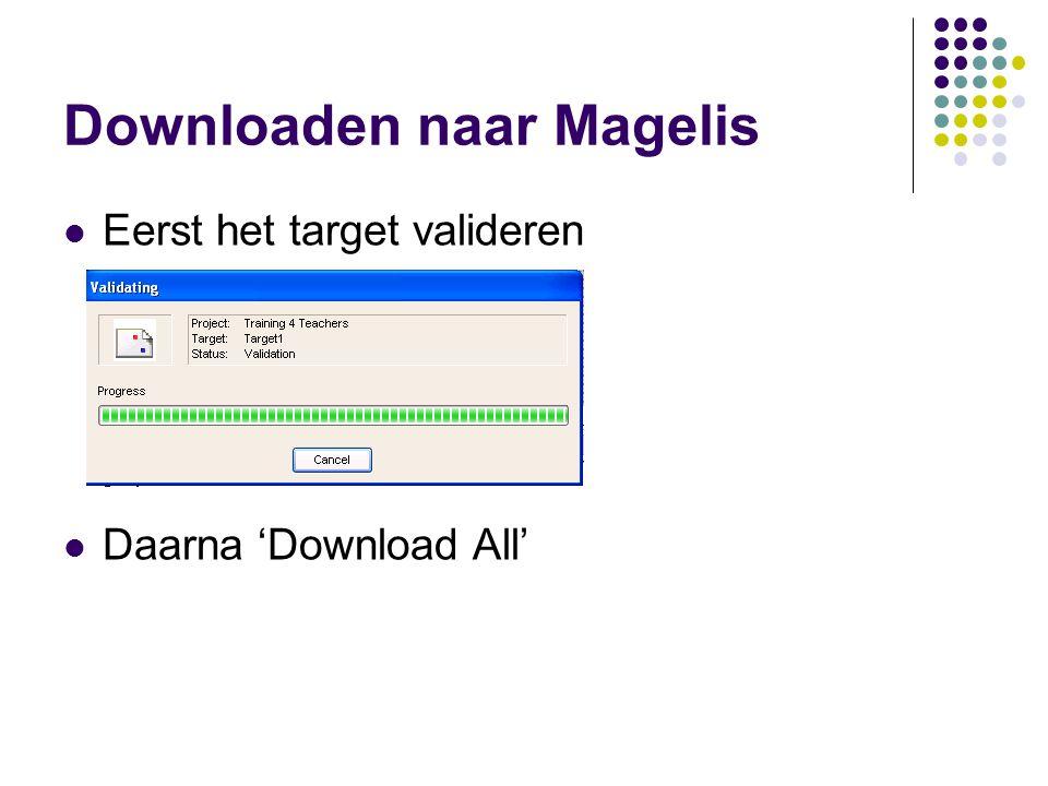 Downloaden naar Magelis