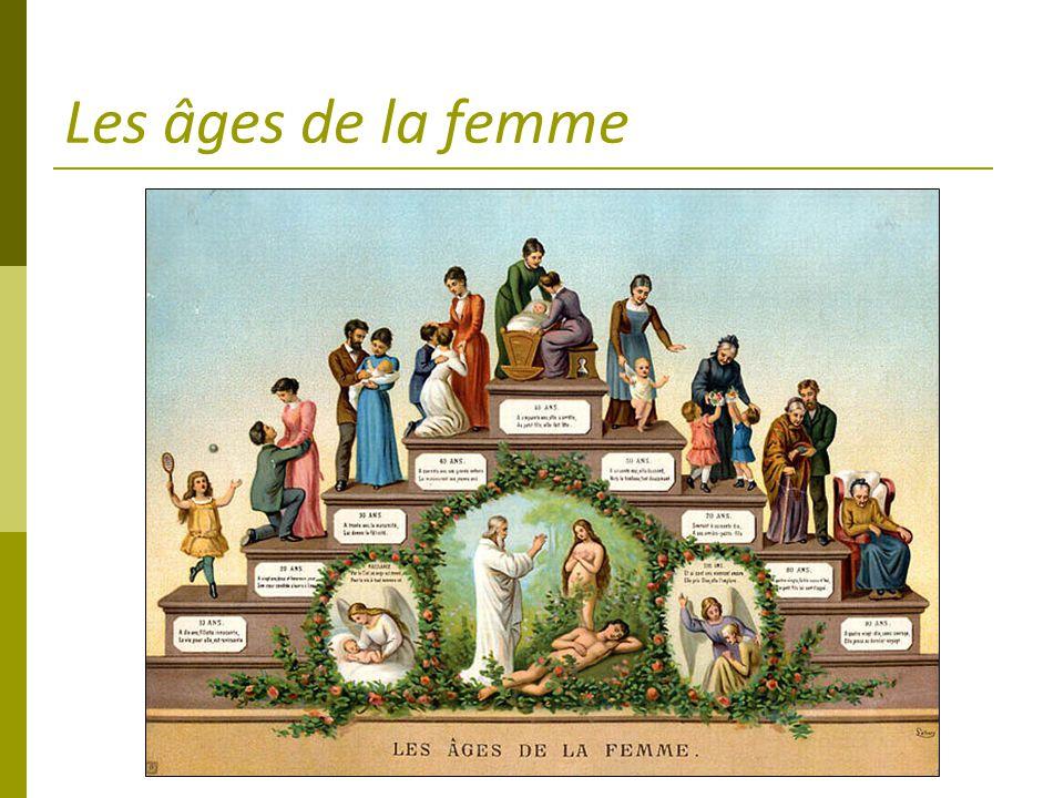 Les âges de la femme