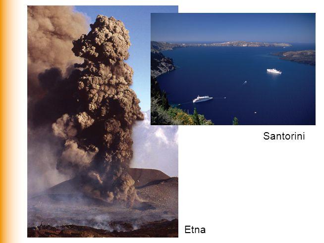 Santorini Etna