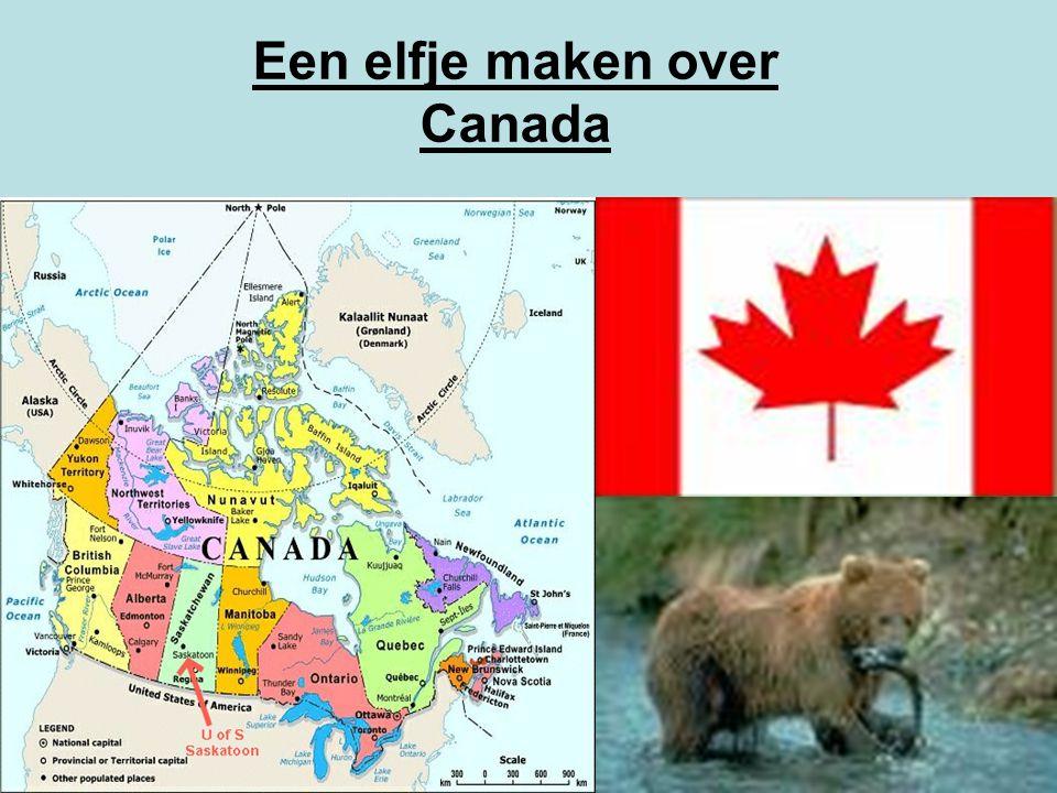 Een elfje maken over Canada