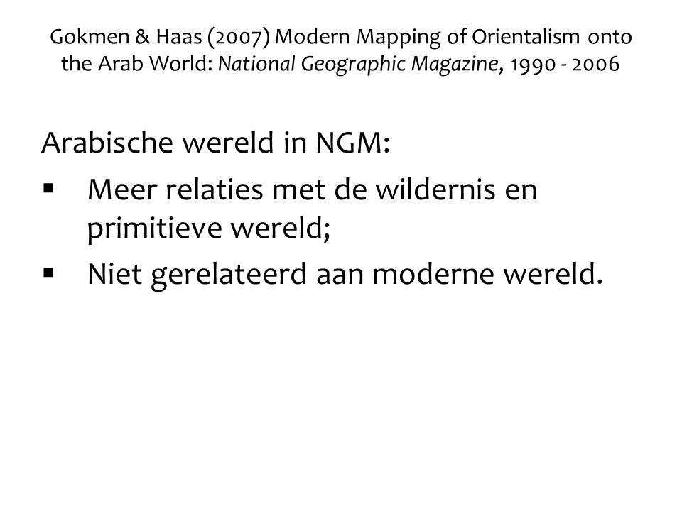 Arabische wereld in NGM: