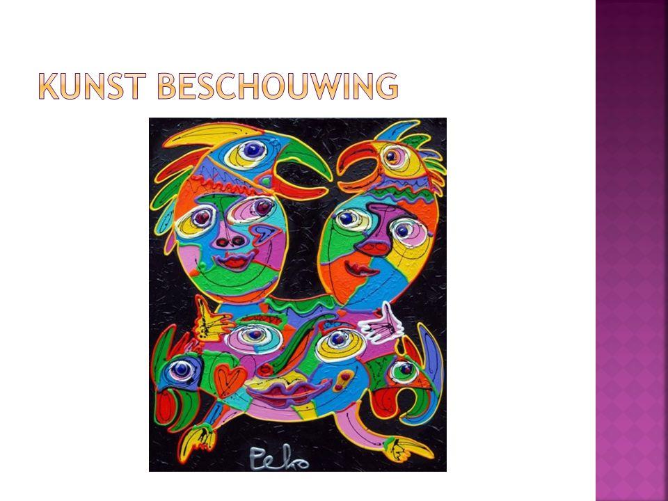 Kunst beschouwing