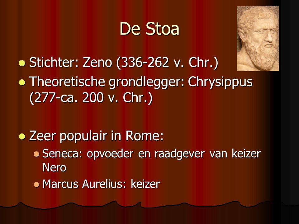 De Stoa Stichter: Zeno (336-262 v. Chr.)