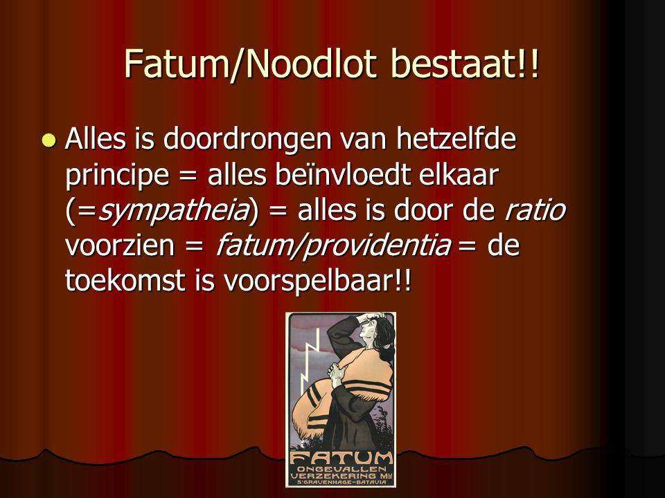 Fatum/Noodlot bestaat!!