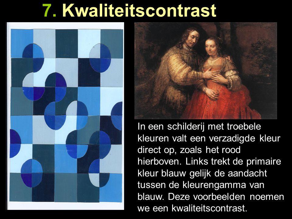 7. Kwaliteitscontrast