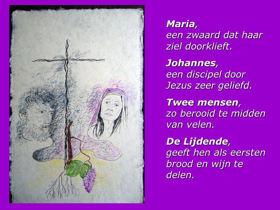 Maria, een zwaard dat haar ziel doorklieft.