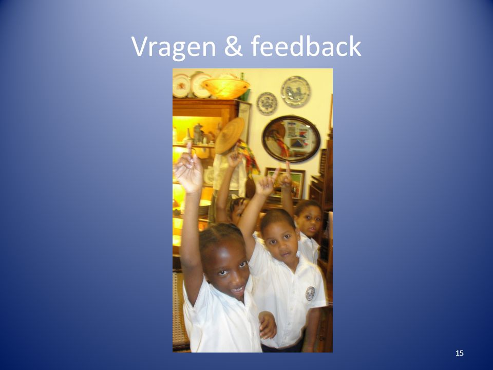 Vragen & feedback
