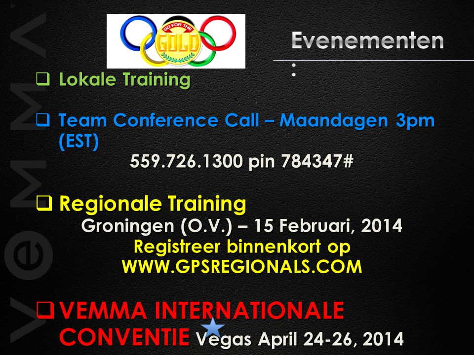 VEMMA INTERNATIONALE CONVENTIE Vegas April 24-26, 2014
