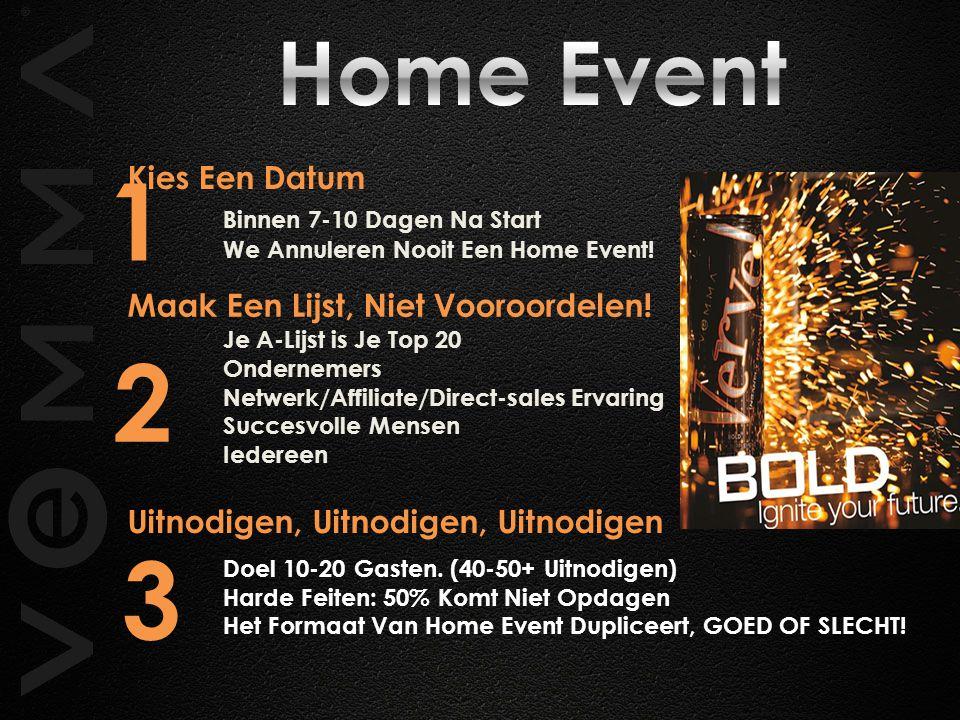1 2 3 Home Event Kies Een Datum Binnen 7-10 Dagen Na Start