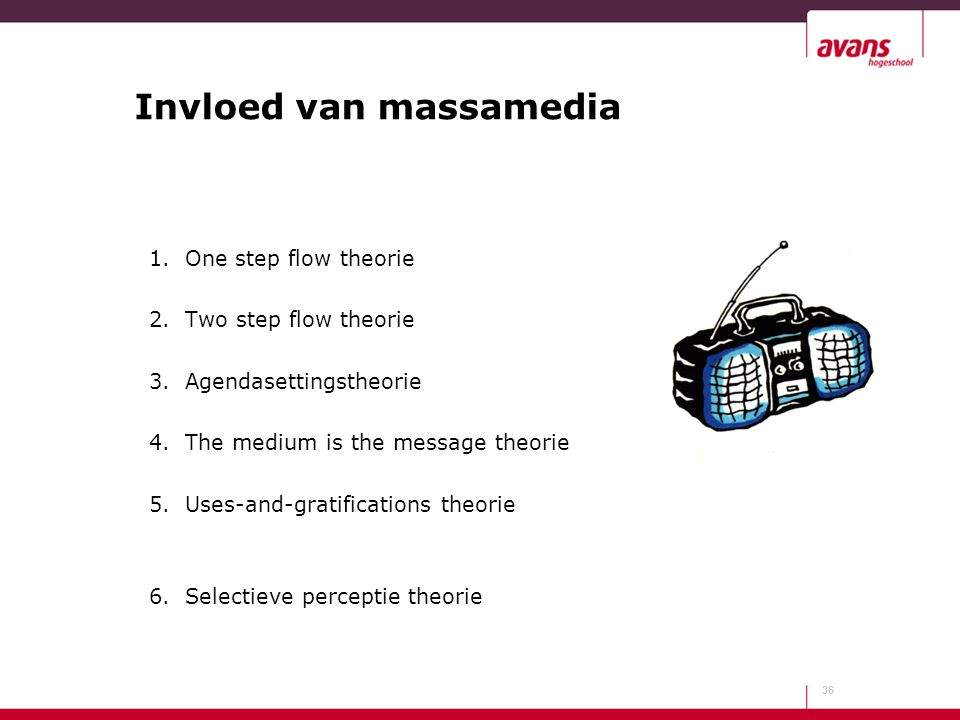 Invloed van massamedia