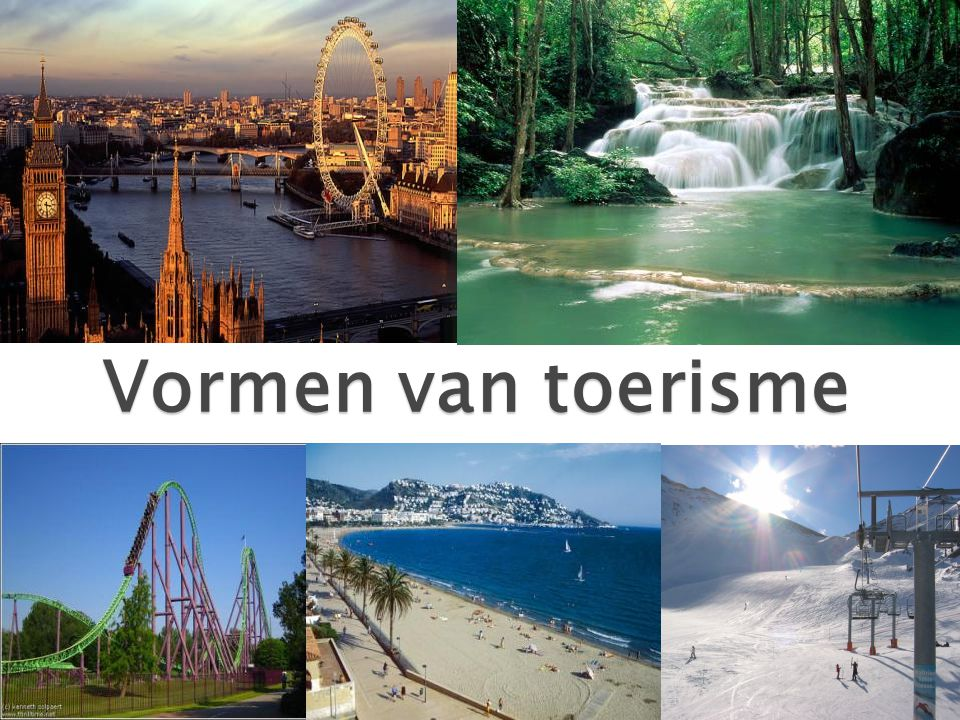 Vormen van toerisme