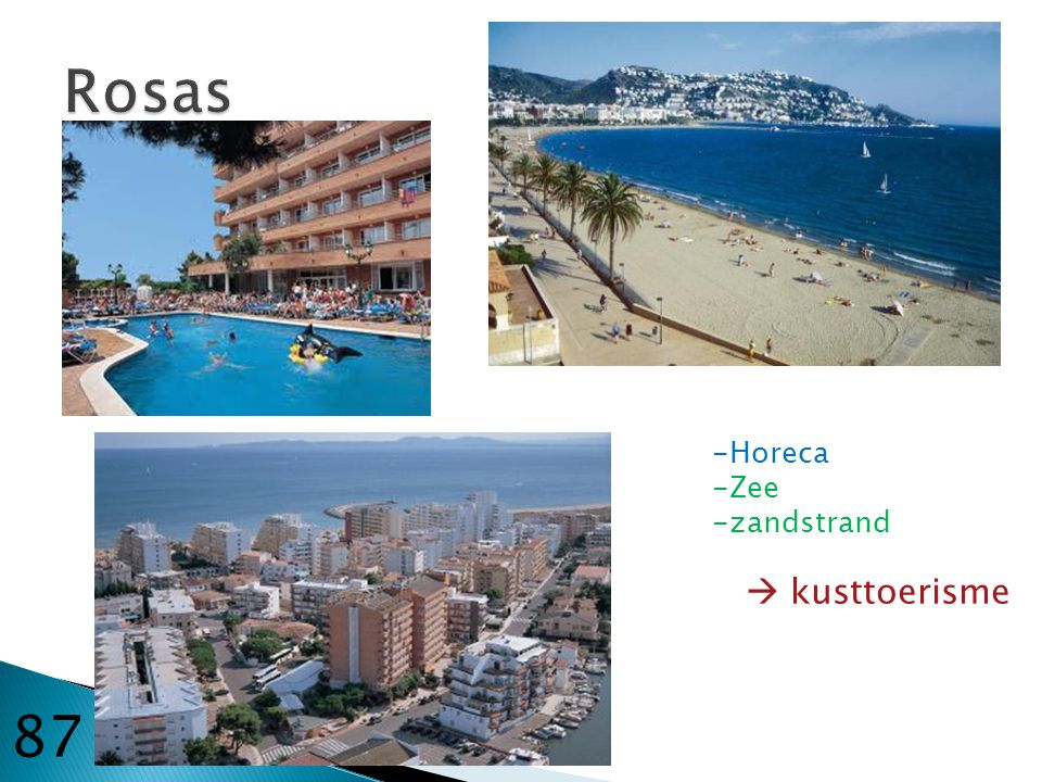 Rosas Horeca Zee zandstrand  kusttoerisme 87