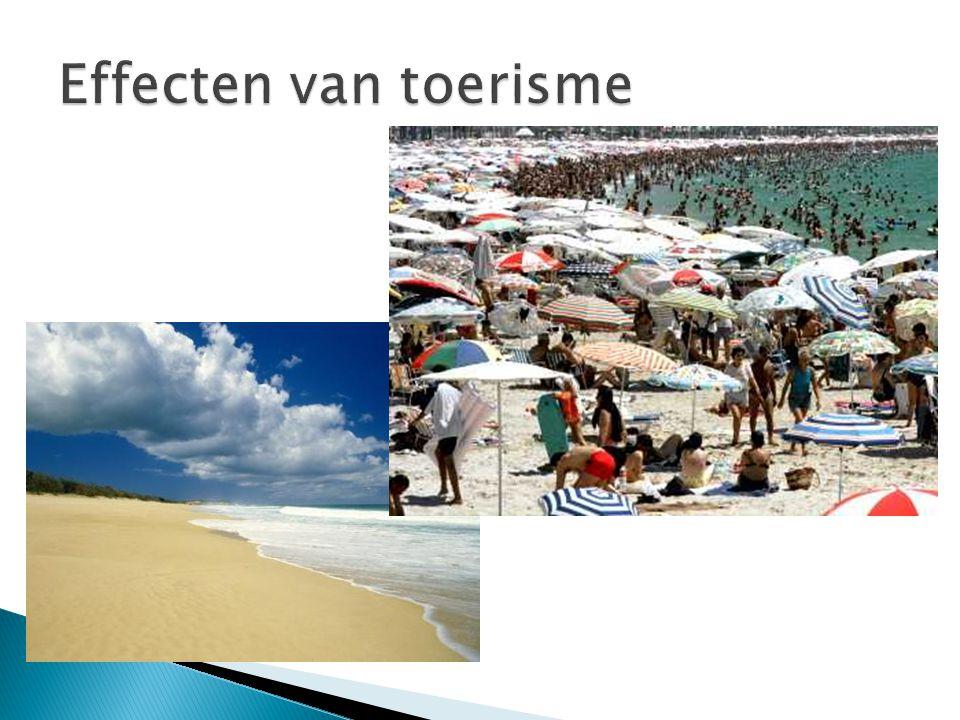 Effecten van toerisme