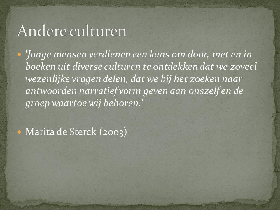 Andere culturen