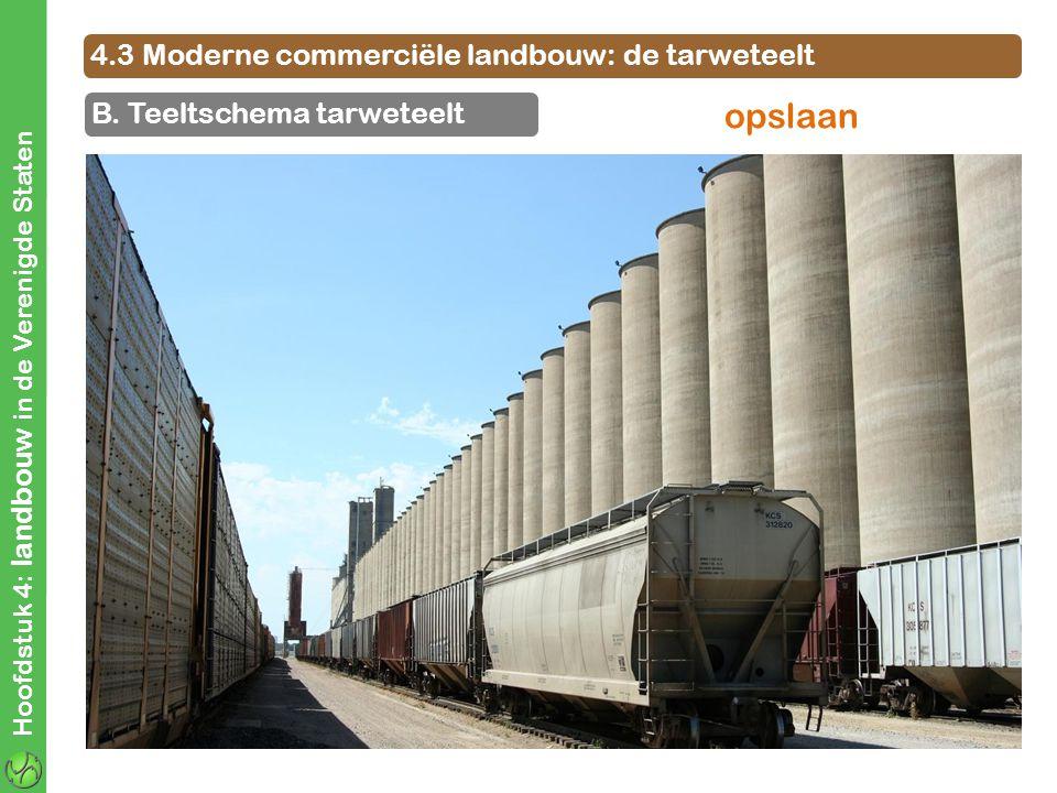 opslaan 4.3 Moderne commerciële landbouw: de tarweteelt