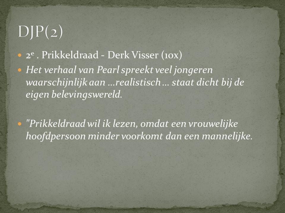 DJP(2) 2e . Prikkeldraad - Derk Visser (10x)