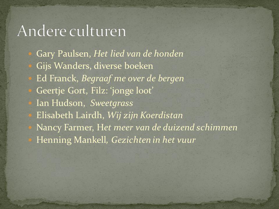 Andere culturen Gary Paulsen, Het lied van de honden