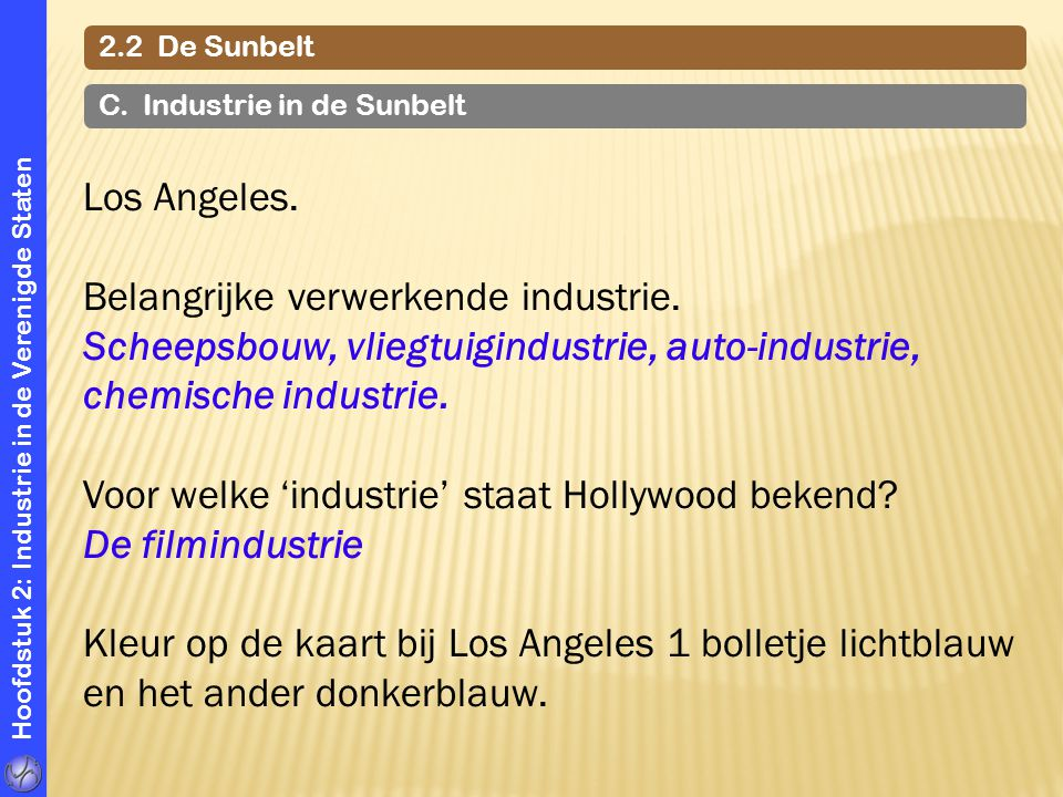 Belangrijke verwerkende industrie.