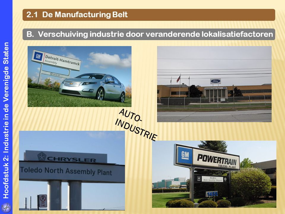 AUTO- INDUSTRIE 2.1 De Manufacturing Belt