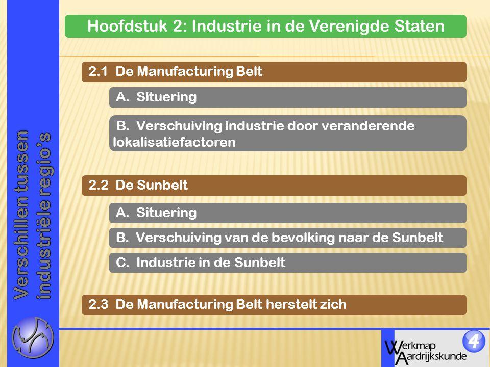 Hoofdstuk 2: Industrie in de Verenigde Staten