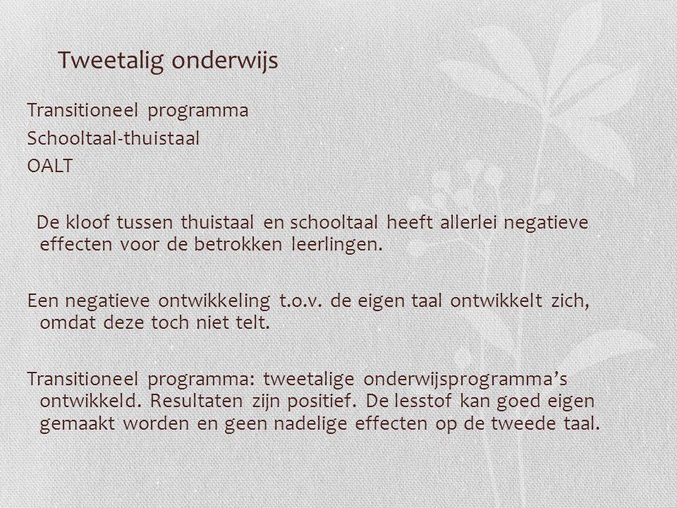 Tweetalig onderwijs