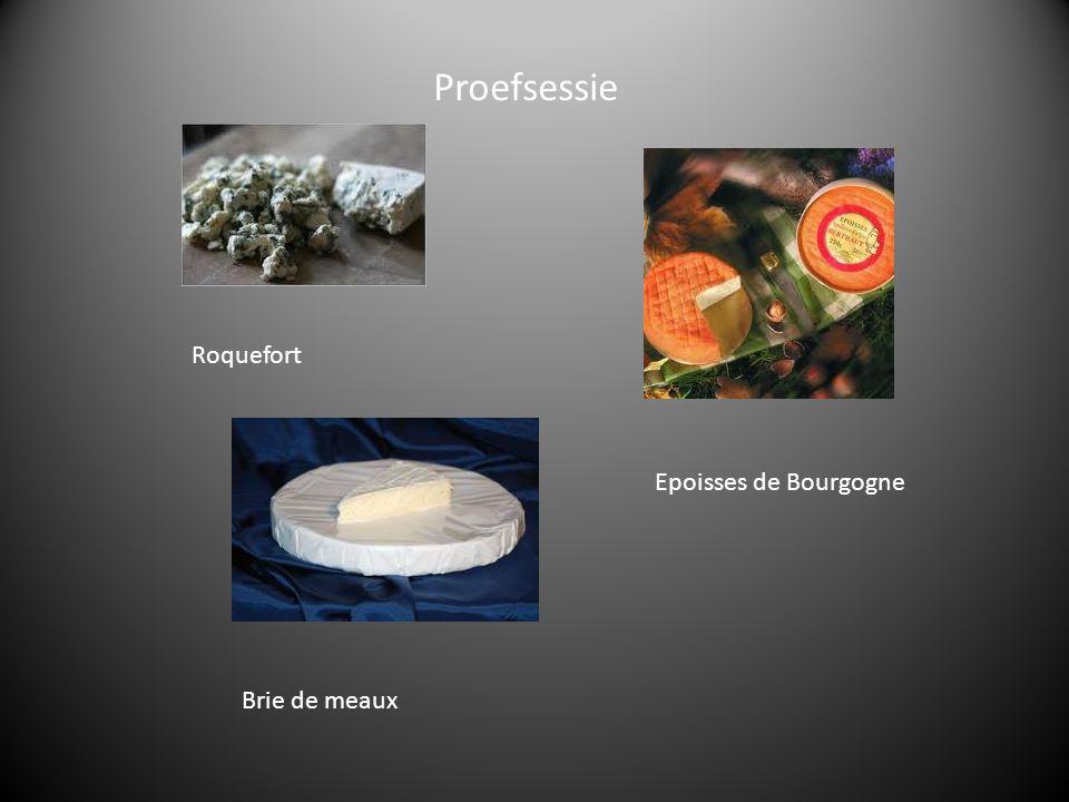 Proefsessie Roquefort Epoisses de Bourgogne Brie de meaux
