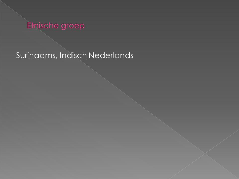 Etnische groep Surinaams, Indisch Nederlands