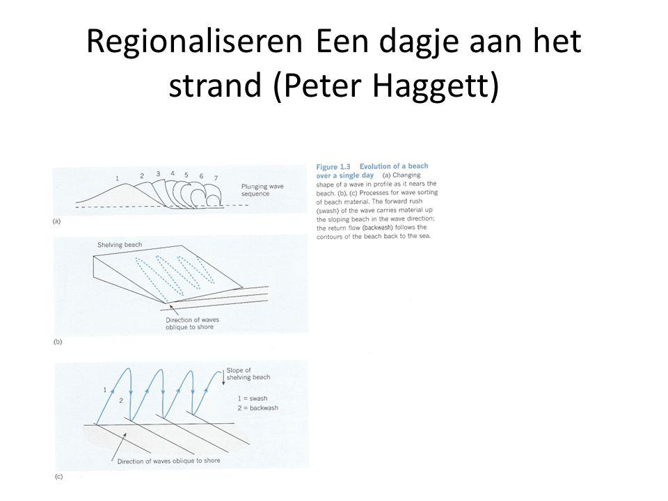 Regionaliseren Een dagje aan het strand (Peter Haggett)
