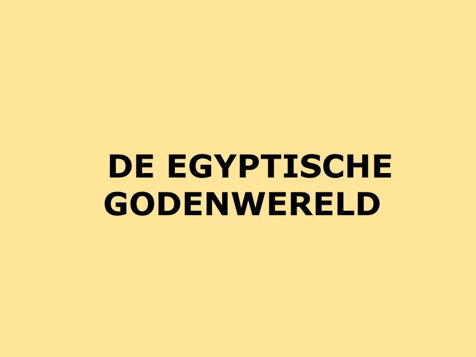 DE EGYPTISCHE GODENWERELD