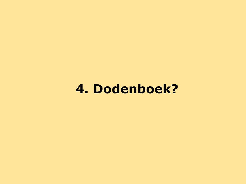 4. Dodenboek