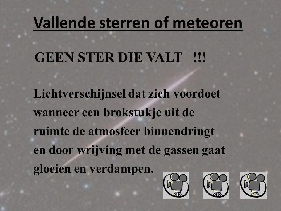 Vallende sterren of meteoren