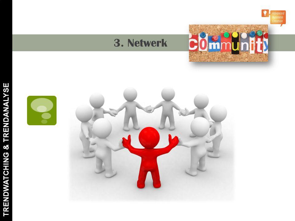 3. Netwerk TRENDWATCHING & TRENDANALYSE