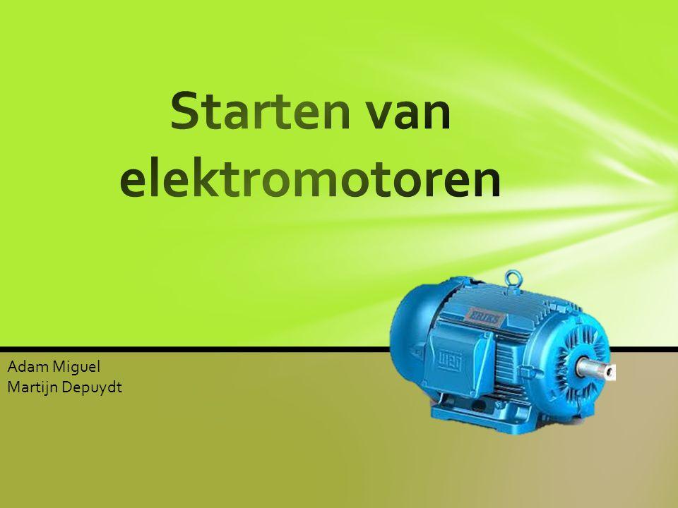 Starten van elektromotoren